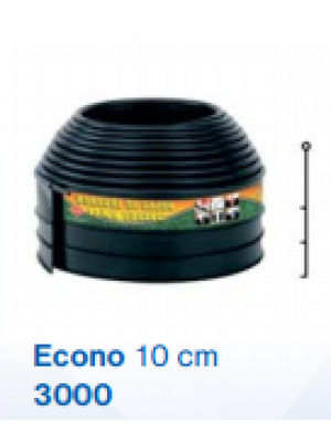 Bordura/Separator de gazon/Econo 3000 BKNS, 6m lungime, 10 cm inaltime, ø 6 mm